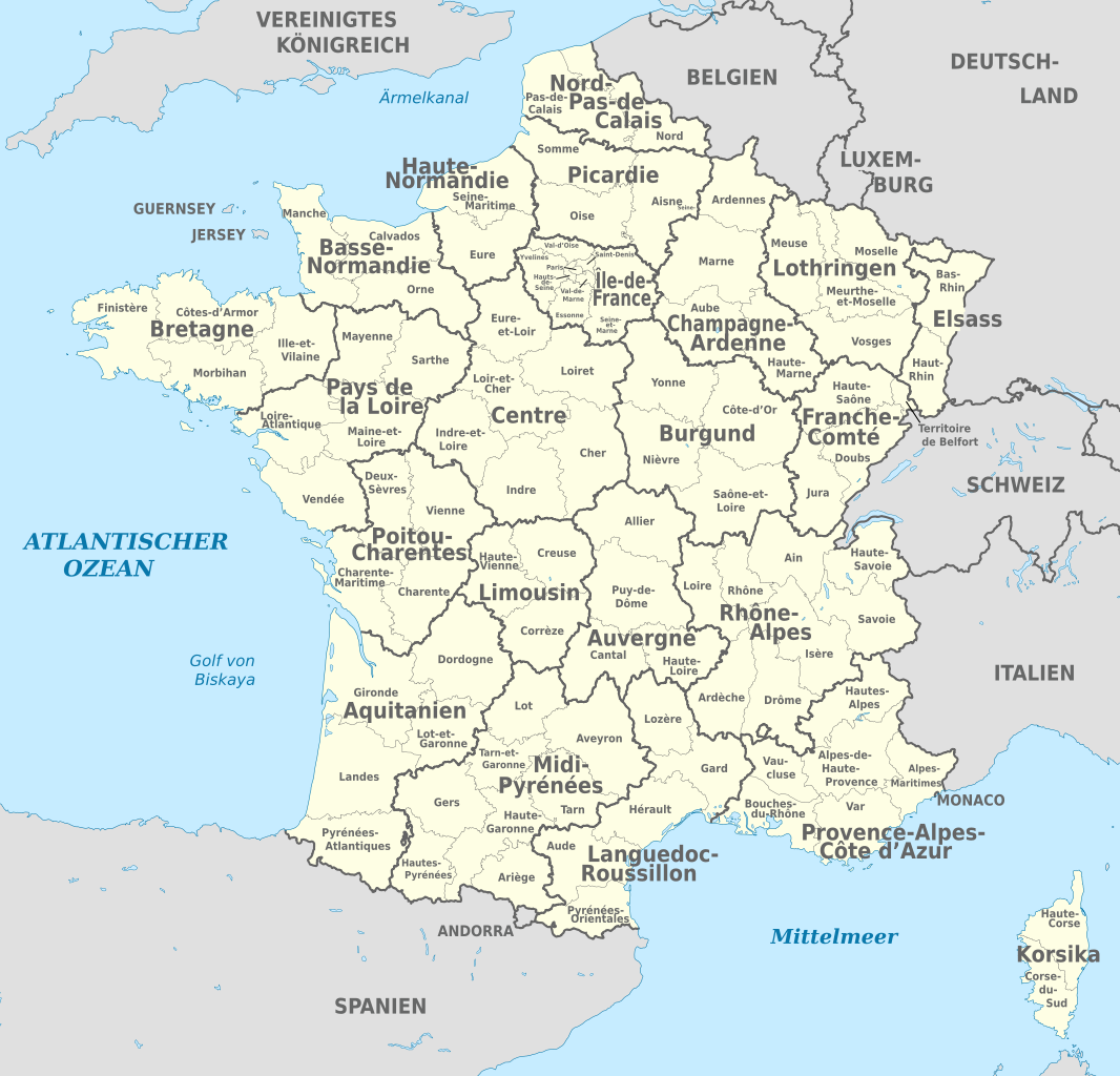 descargar Mapa de Francia